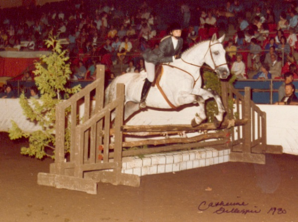Val Showing at Exhibition in Toronto 1980